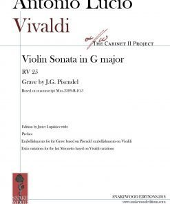"Vivaldi – Sonata in G major ""per Pisendel"" RV 25"