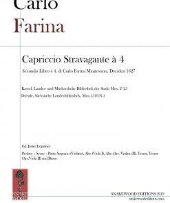 Carlo Farina – Capriccio Stravagante