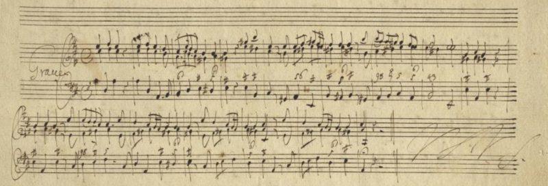 Bitti Dresden sonata manuscript