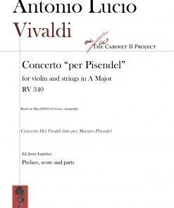 Vivaldi RV 340 violin concerto